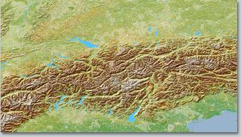 Alpen VSM4 ohne Schnee
