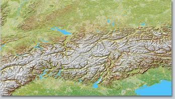 Alpen VSM4 mit Schnee